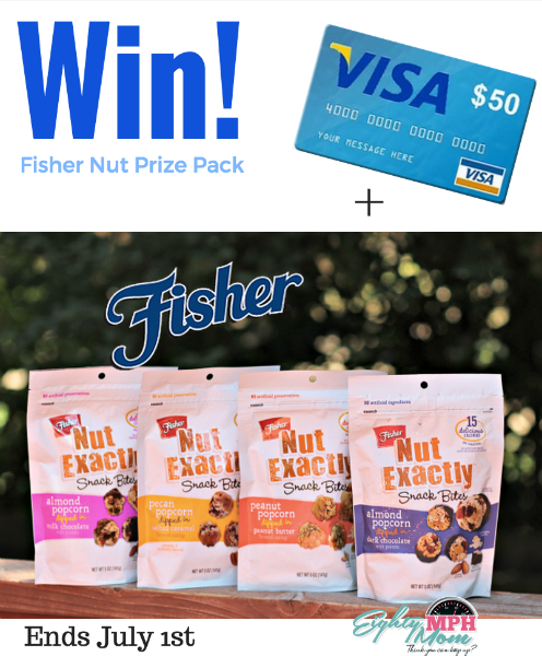 fisher nut exactly prize