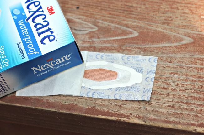 nexcare waterproof bandaids
