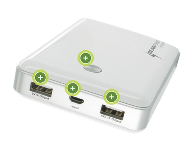 portable charger for multiple phones