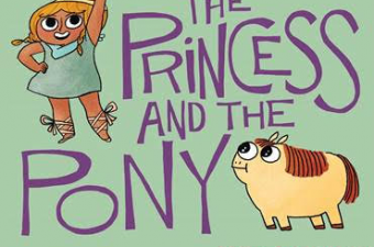 The Princess and the Pony book + a Happy Birthday Warrior