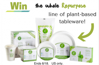 Repurpose – Single-use tableware made from plants