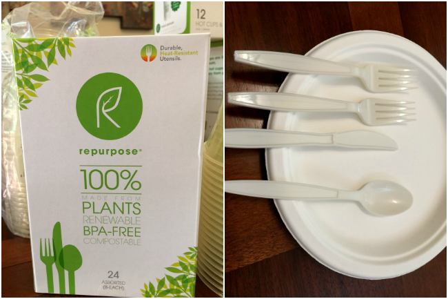 repurpose plant based utensils