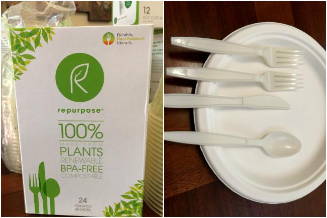 repurpose plant based utensils