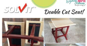 solvit double cat seat giveaway