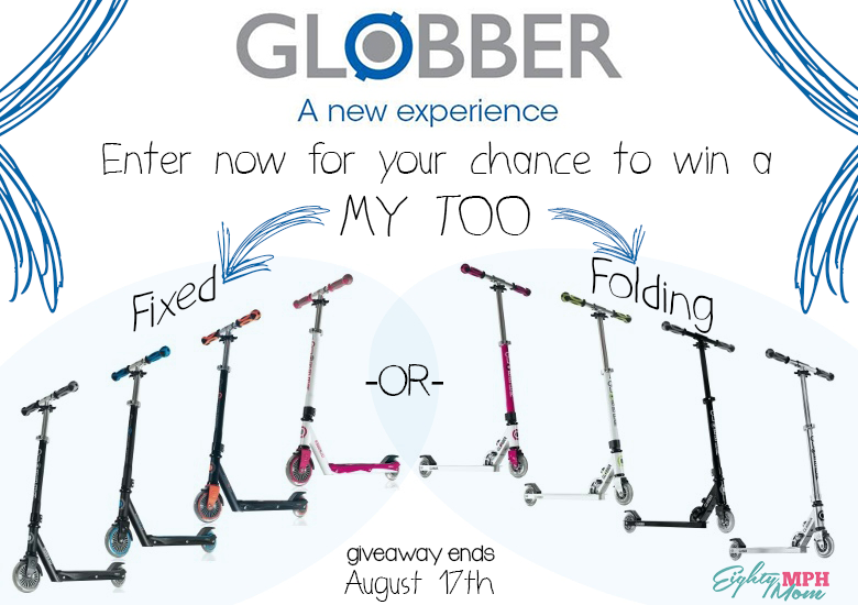 Eighty MPH Mom Globber Scooters Giveaway
