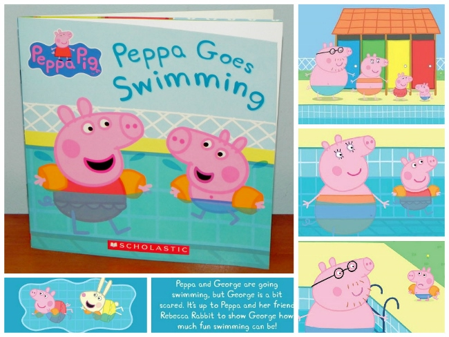 Peppa Pig Book Collage