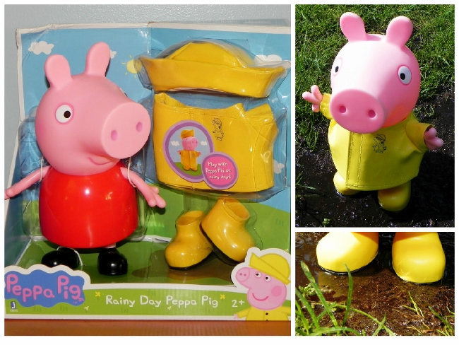 Peppa Pig Doll Collage