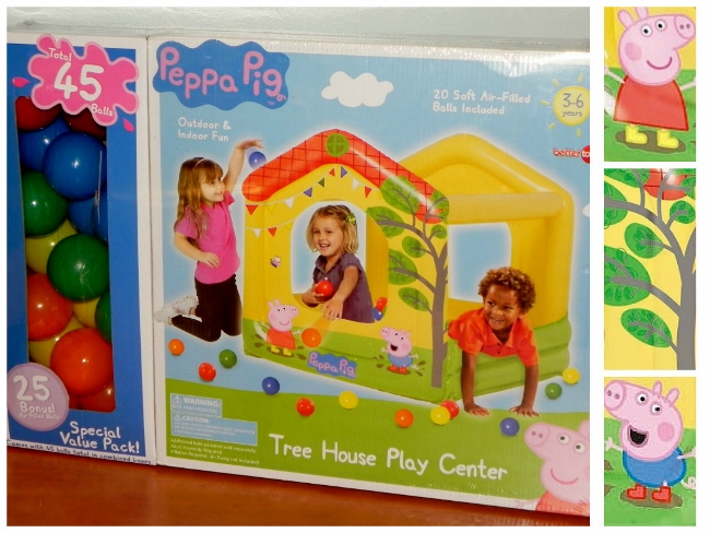 Peppa Pig Play Center Collage
