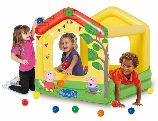 Peppa Pig - Tree House Play Center with Ball Pit