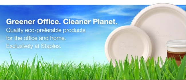 Sustainable Earth by Staples - Breakroom Products
