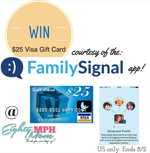 family signal app gift card giveaway