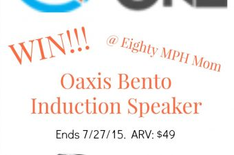 Take Your Music Anywhere with an Oaxis Bento Induction Speaker from MakeTheOne