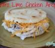 Cilantro Lime Chicken Arepa