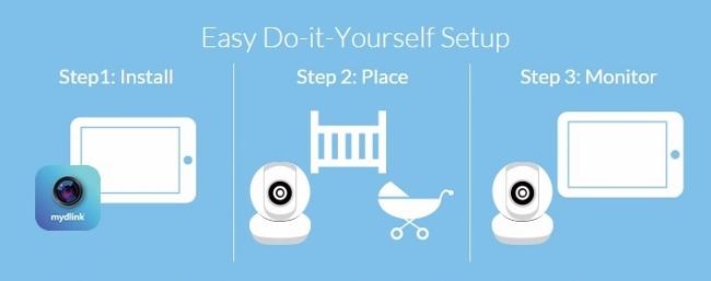 D-Link Baby Camera Setup