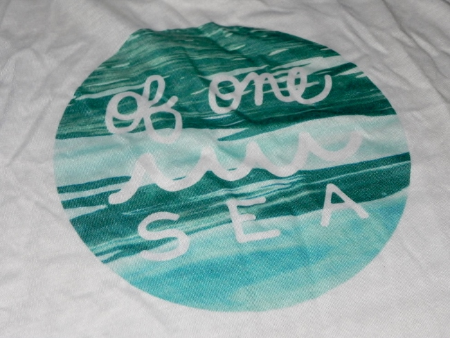 OF ONE SEA - Water Logo Flowy Tank