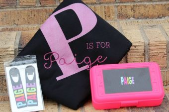 Back to School with Personalized Gear from Personalization Mall Review