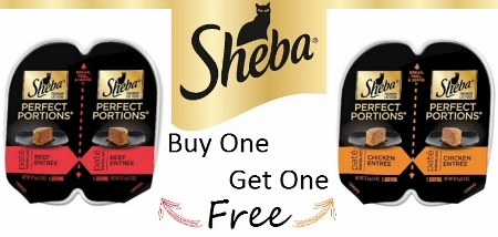Sheba Perfect Portions Coupon