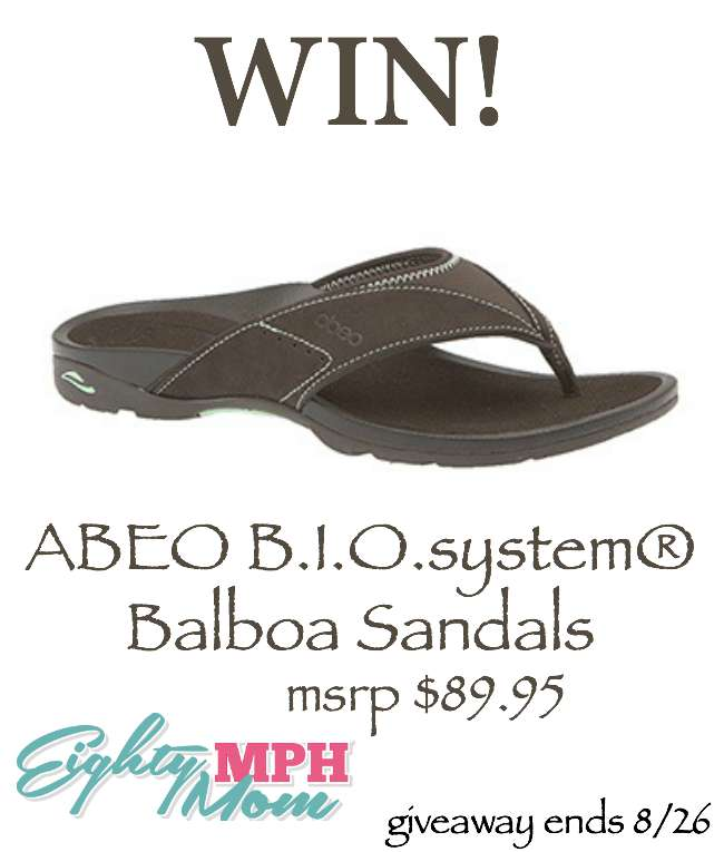 abeo-bio-system-sandals-giveaway