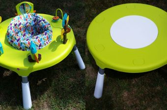 The Oribel PortaPlay Convertible Activity Center Grows with Your Family