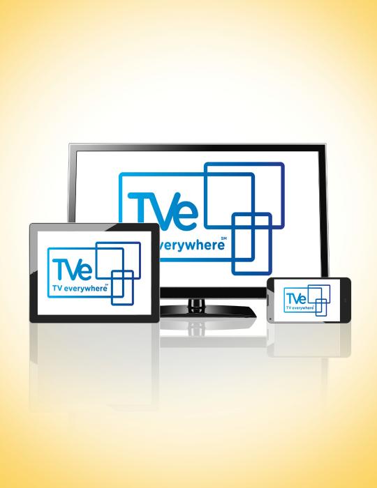 tv everywhere phone, tablet computer