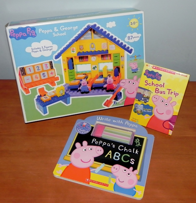 Peppa Pig Back-to-School