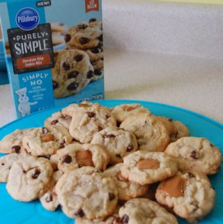 Caramel Chocolate Chip Cookie recipe