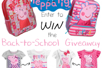 Head Back-to-School with Peppa Pig