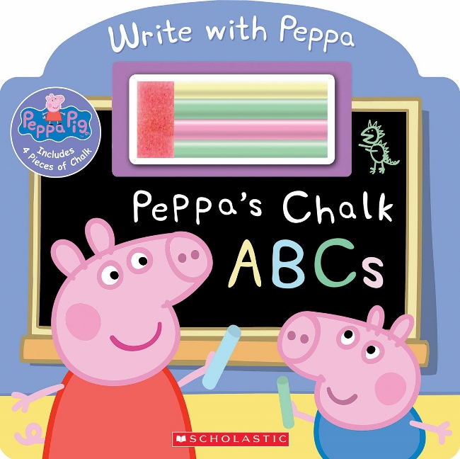 Peppa Pig - Peppa's Chalk ABCs Book