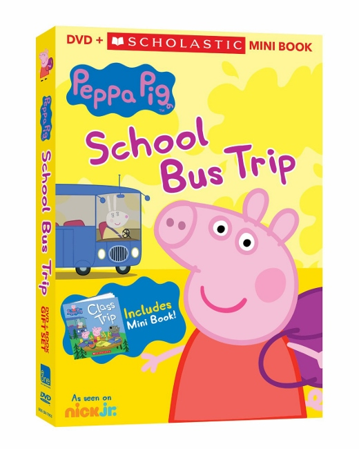 Peppa Pig - School Bus Trip DVD