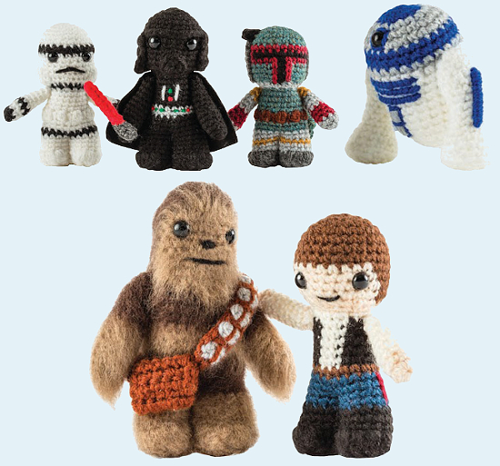 Free Crochet Patterns Disney Characters : Create Your Favorite Peanuts, Star Wars, & Disney ...