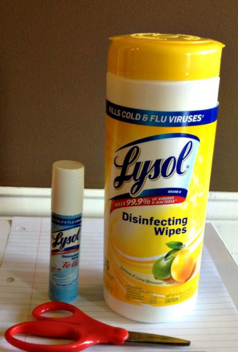 lysol healthy habits