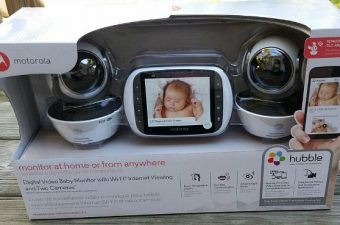 Mom's Got Eyes in the Back of Her Head with the Motorola MBP853CONNECT WiFi Video Baby Monitor