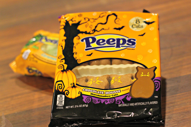 chocolate mousse peeps