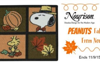 Fun Peanuts Fall Rugs from Nourison