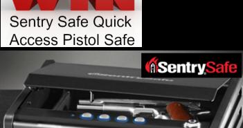 sentry pistol safe giveaway