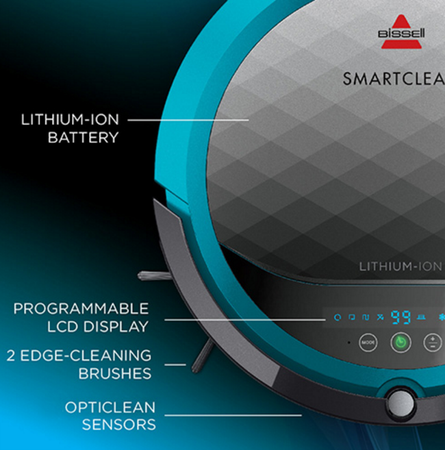 Bissell SmartClean LCD Diplay