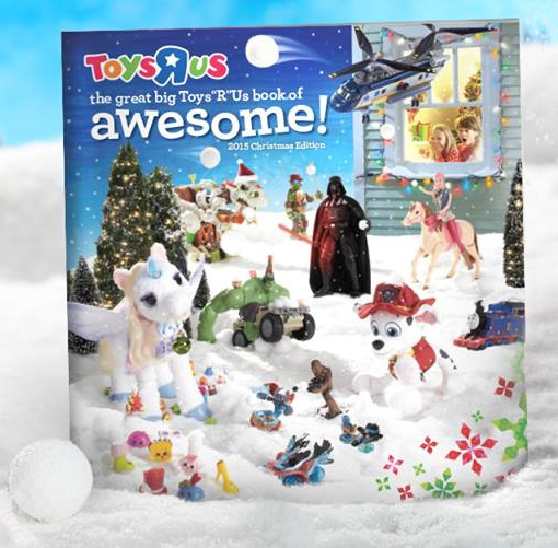 """The Great Big Toys""""R""""Us Book of Awesome"""