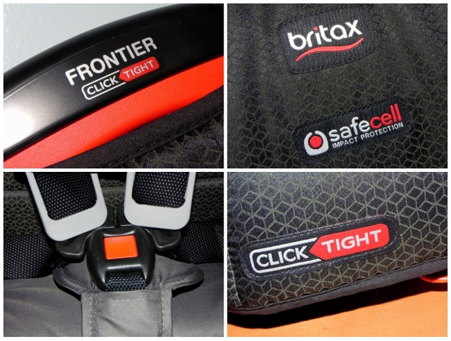 Britax Frontier ClickTight - Close Up Collage