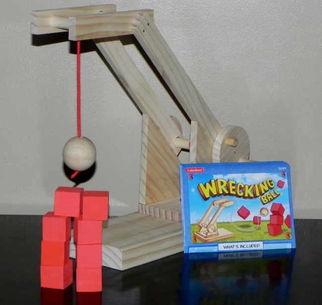 Lakeshore Learning - Look What I Made! Engineering Kits, Wrecking Ball