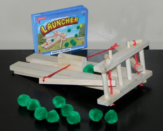 Lakeshore Learning - Look What I Made! Engineering Kits, Launcher