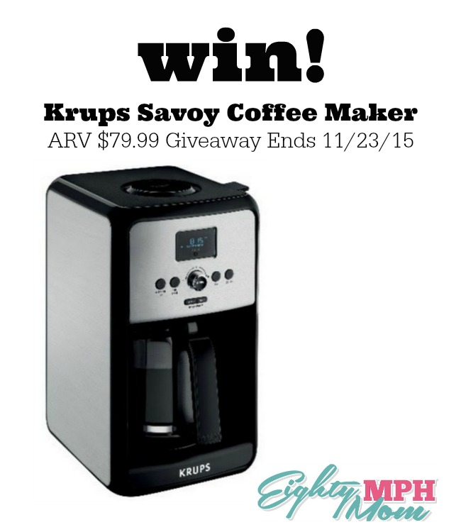 Krups Savoy giveaway graphic