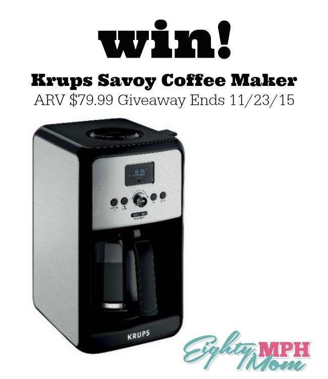 Krups Savoy giveaway graphic