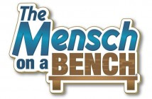 Mensch on a Bench Logo