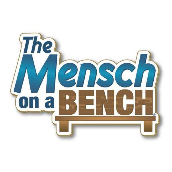 Mensch on a Bench Logo