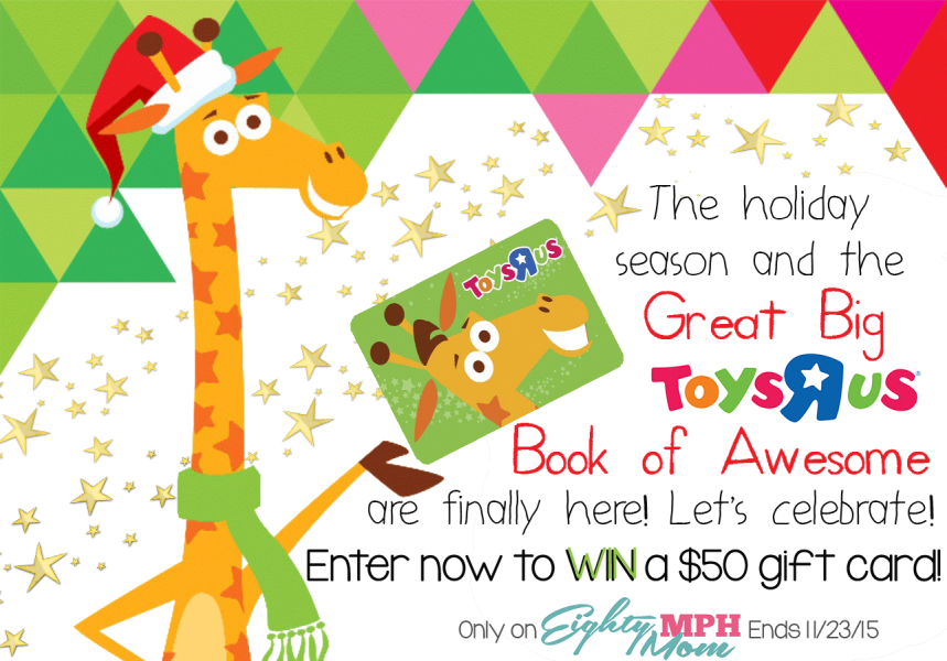 The Great Big ToysRUs Book of Awesome Giveaway - Eighty MPH Mom