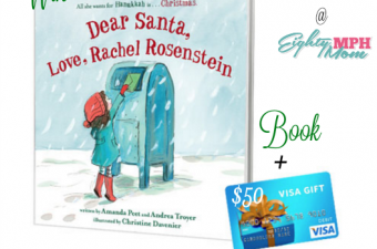 Dear Santa, Love, Rachel Rosenstein Book