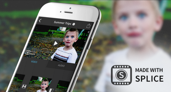 splice iphone video editing app