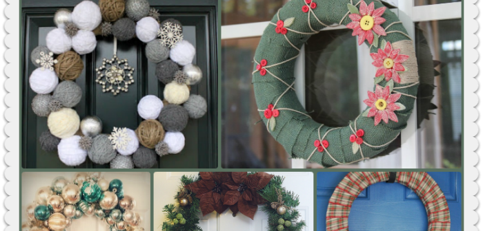 23 Easy to Make Holiday Wreaths