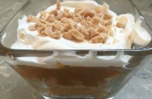 5 Minute Butterscotch Toffee Trifle