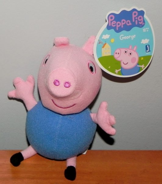 Peppa Pig George beanie from Jazwares